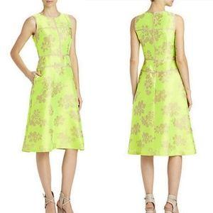 Lafayette 148 Everglade Damaris Jacquard Dress